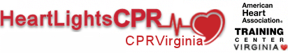HeartLights CPR Seasonal Logo
